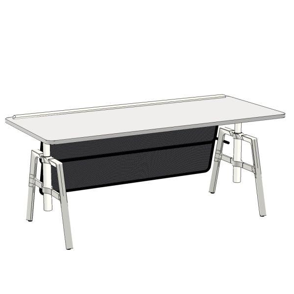 wiesner-hager etio Rechteck-Tisch