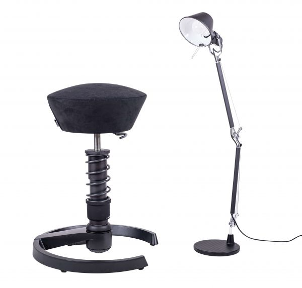 swopper + Tolomeo Mini Tavolo (Black-Edition SET-PREIS)