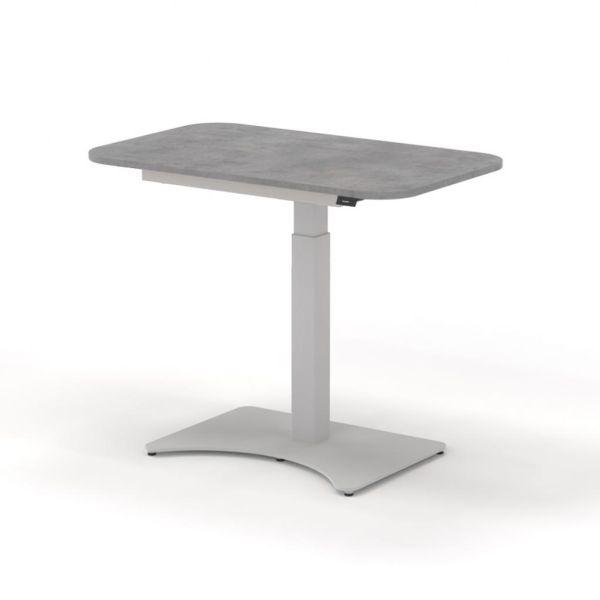 MK Light Grey Concrete - RAL 9006 White aluminium